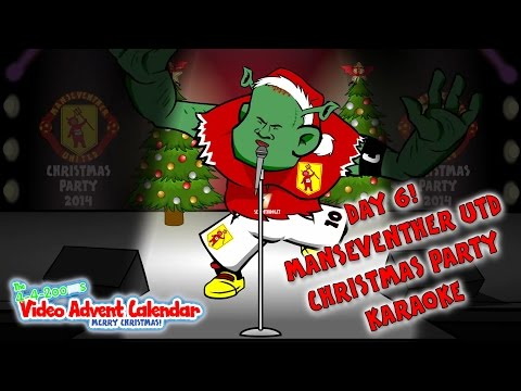 🎄DAY 6🎄🎶Wayne Rooney Singing Karaoke🎶(442oons Video Advent Calendar Football Cartoons)