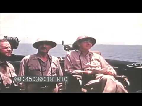 Invasion Of Saipan; USS Rocky Mount 05/30/1944 (full)