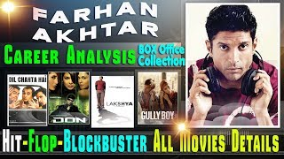 Producer Farhan Akhtar Box Office Collection Analysis Hit and Flop Blockbuster All Movies List.