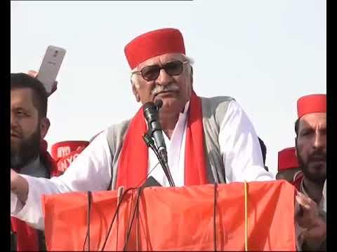 Asfandyar Wali khan ANP Speech in Swat