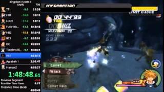 Kingdom Hearts II Any% Beginner in 4:02:49