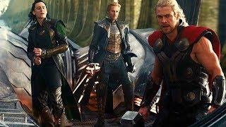 Thor Flying a Ship - Escape From Asgard (Scene) Thor: The Dark World (2013) Movie CLIP HD