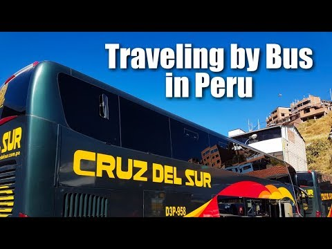"WBP: Bus Travel Peru | ""Luxury"" Budget Travel 