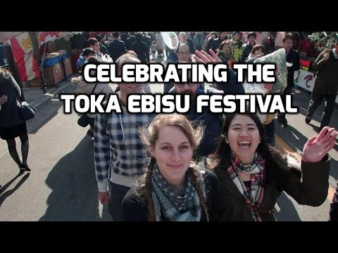 Celebrating the Toka Ebisu Festival & Karaoke! | JAPAN VLOG