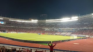 Merinding Lagu Indonesia Raya sebelum Laga Indonesia Vs Japan • AFC U19 Championship 2018