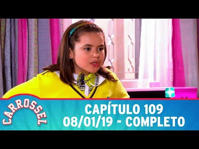 Carrossel | Capítulo 109 - 08/01/19, completo