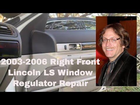 Lincoln LS Window Regulator Replacement & Repair. 2003-2006 Lincoln LS 2003-2006