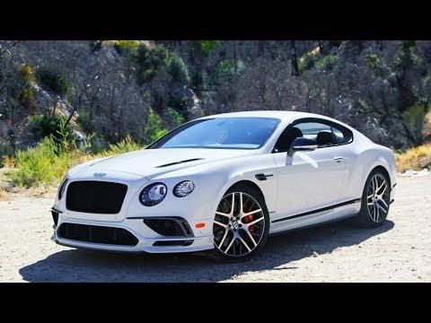 Tire Rack's Hot Lap | Bentley Continental GTC Supersport