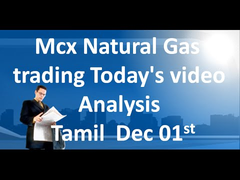 MCX NATURAL GAS TRADING TECHNICAL ANALYSIS DEC 01 2015 IN TAMIL
