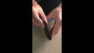 carbon money clip