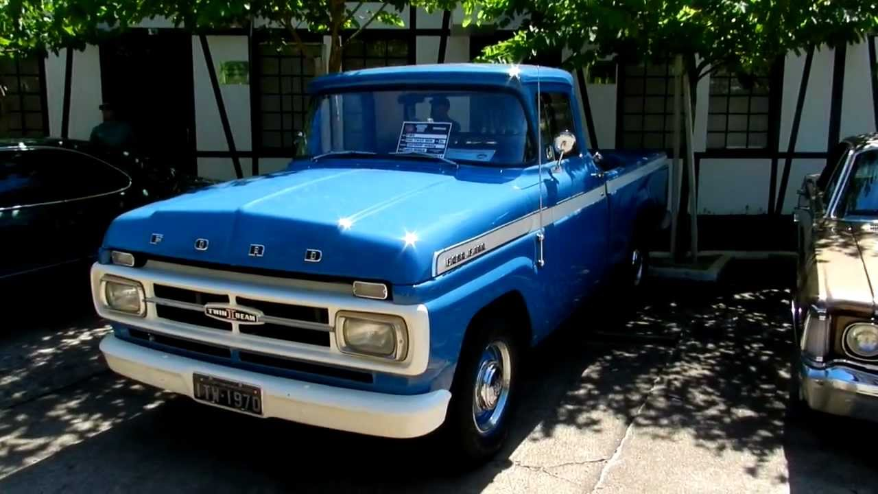 1970 Ford F100 Twin Bean Youtube