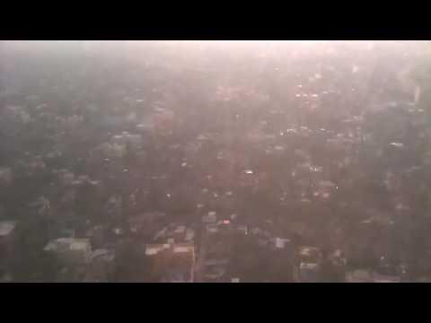 Spicejet SG 626 lands CCU after completing 2 rounds over krishnagar
