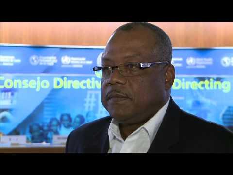 John D. Boyce, Minister of Health of Barbados
