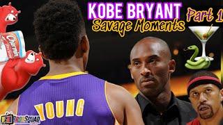 Kobe Bryant's Most Savage Moments