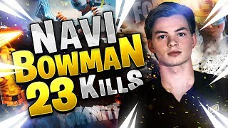 NAVI BOWMAN 23k vs SQUADS - Fortnite Edit