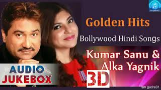 Kumar sanu & Alka Yagnik & Nadeem-Shravan Best 3D Audio Songs Jukebox