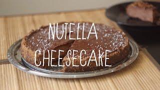 Homemade Nutella Cheesecake!