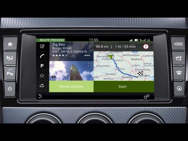 Jaguar XJ XF F Type Navigation Incontrol Touch Plus 2017 USB update