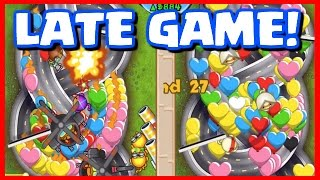 LATE GAME SPEED BATTLE! - Bloons TD Battles - BIGGEST LATE GAME FAIL WITH MY GIRLFRIEND!