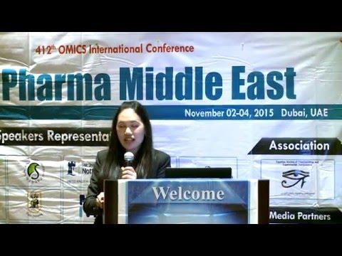Kesinee Netsomboon | Austria | Pharma Middle East 2015| Conference Series LLC