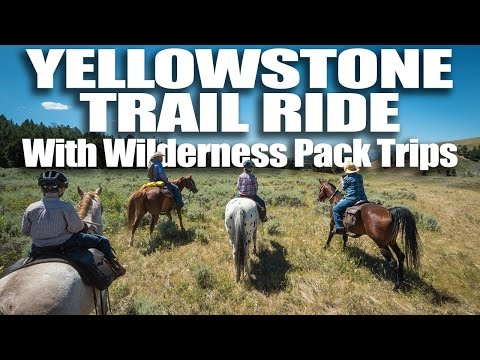 Yellowstone Horseback Ride with Wilderness Pack Trips
