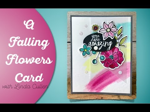 Coffee & Crafts Class: Falling Flowers Watercolor