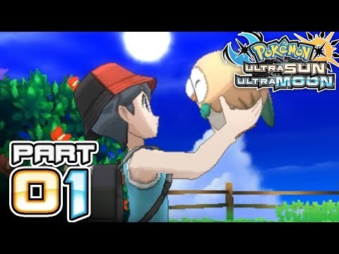 Pokemon Ultra Sun and Ultra Moon - Part 1 - Welcome Back to Alola!