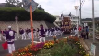 平成25年10月5日 泉田中道中曳き(上神谷小学校付近)