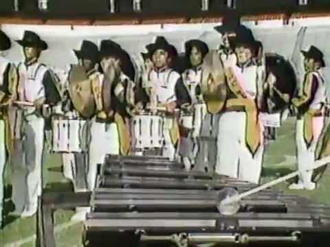 Goose Creek High School Marching Band, 1985