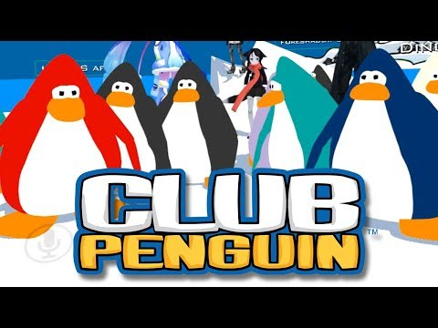 Club Penguin in Virtual Reality