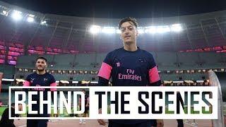 😱 Ozil's incredible trick shot | Behind the scenes in Baku