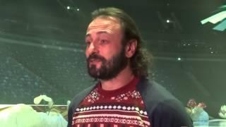 Илья Авербух даёт интервью