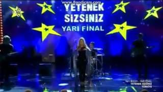 Aleyna Tilki - Yetenek Sizsiniz Türkiye 2015 Yarı Final