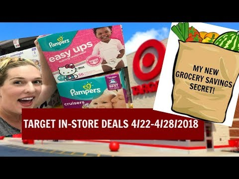 Target In-Store Couponing 4/22-4/28/2018 & My New Grocery Savings Secret!!