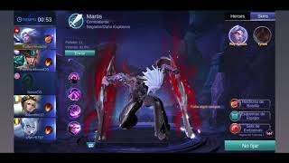 Mobile Legend Martis Hack Damage/Heal/1 Hit/Gold/Rank