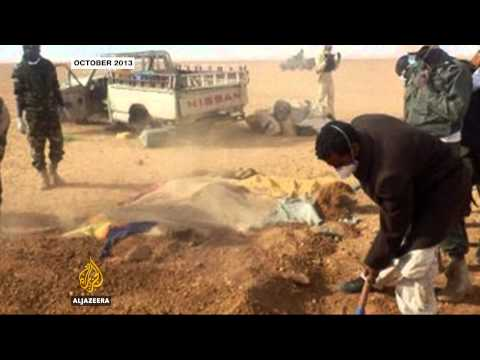 The deadly journey across the Sahara