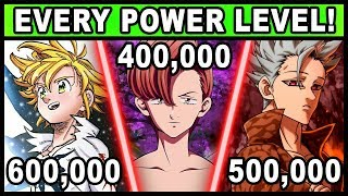 All 7 Sins and Their Power Levels Explained! (Seven Deadly Sins / Nanatsu no Taizai)