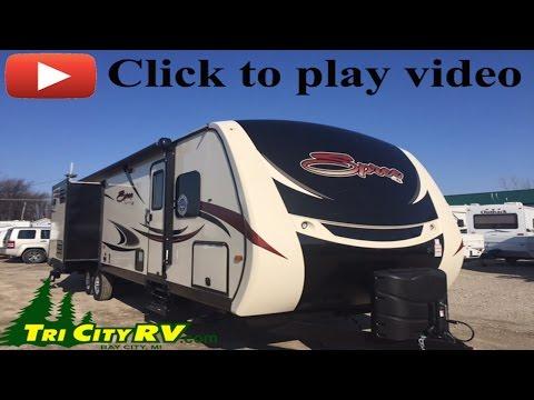 KZ Spree 304RL Luxury Rear Living Travel Trialer- Tri City RV- Bay City, MI