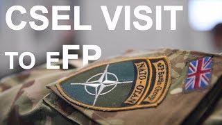 CSEL visit to eFP forces