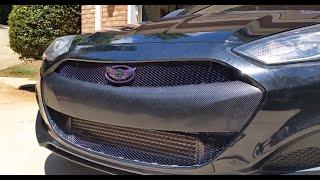 2013 Hyundai Genesis Coupe Custom Grill and Bumper