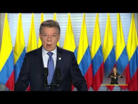 Alocución del Presidente Juan Manuel Santos sobre conflictividad y diálogo social