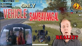 PUBG Vehicle சம்பவங்கள் !! tamil funny moments pubg mobile !!  Raze Tamil