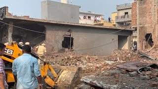 Indian factory blast that killed 23 captured on camera