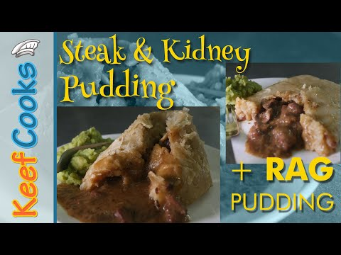 Steak And Kidney Pudding | Rag Pudding