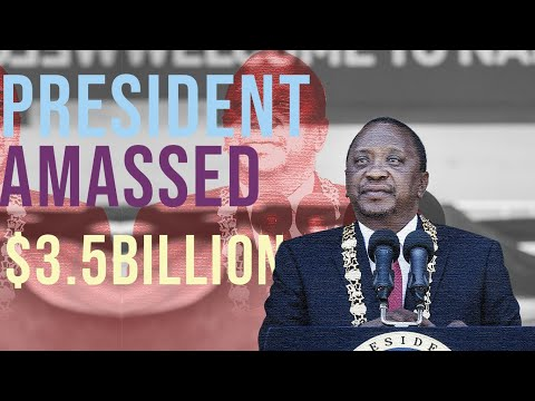 Kenya's President stashed $3.5 Billion in offshore accounts- PANDORA Papers