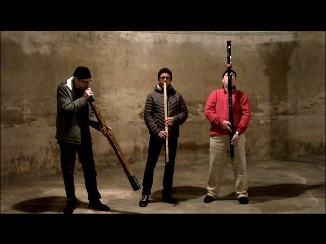 Fujara trifft Kaval und Didgeridoo