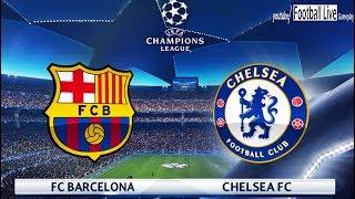 PES 2018 | FC Barcelona vs Chelsea FC | UEFA Champions League (UCL) | Gameplay PC