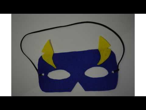 Mari Berkarya: Membuat Topeng Superhero