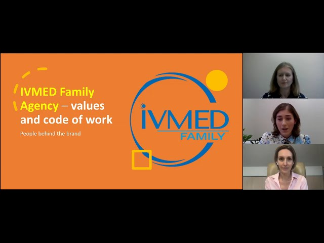 IVMED Family Agency – values and code of work