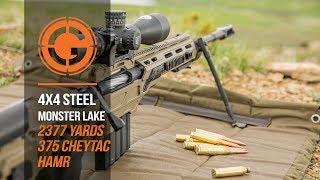 Gambar cover Gunwerks HAMR SLAYS Steel at 2,377 Yards